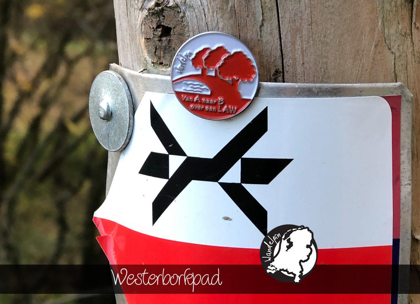 Westerborkpad Wandelpin