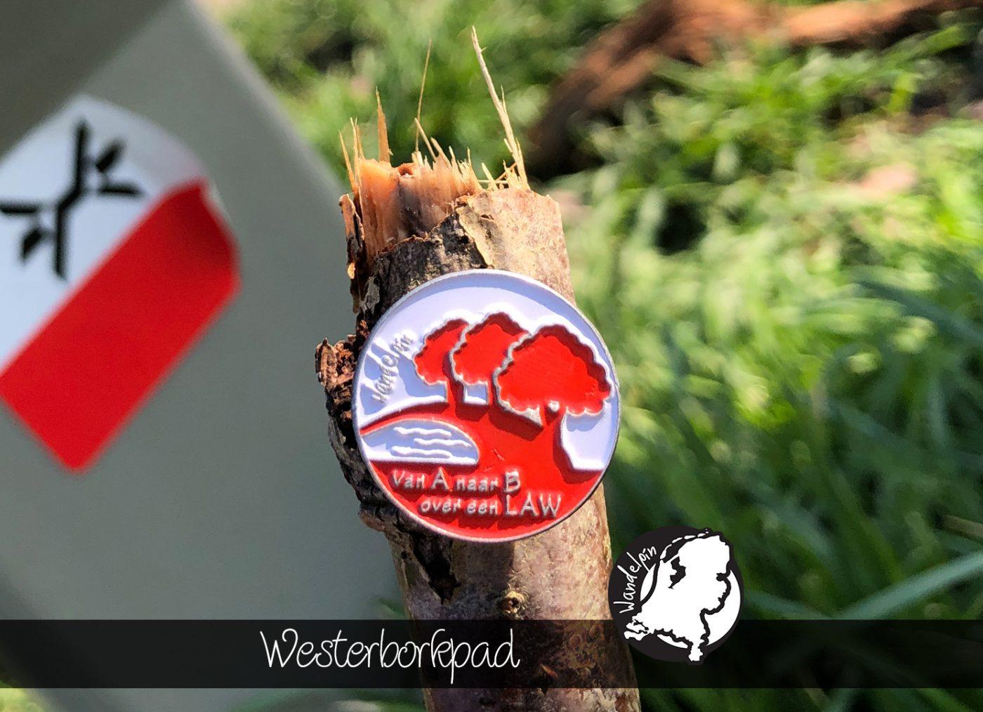 Wandelpin Westerborkpad